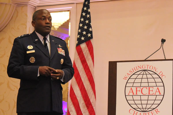 DISA Director Lt. Gen. Ronnie Hawkins (Photo: David Stegon/FedScoop)