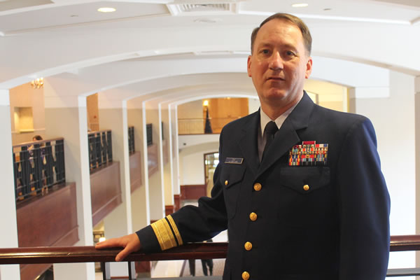 U.S. Coast Guard Chief Information Officer Rear Admiral Robert Day (Photo: FedScoop/David Stegon)
