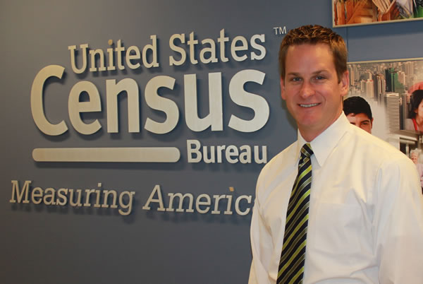 U.S. Census Bureau Center for New Media and Promotions Director Steve Buckner (Photo: FedScoop/David Stegon)