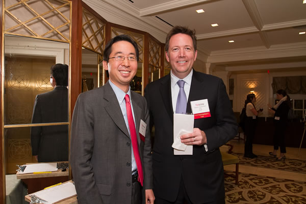 U.S. CTO Todd Park and CIO Steven VanRoekel at the FedScoop 50 Awards, held Wednesday night at a ceremony at the Hay Adams Hotel in Washington, D.C.