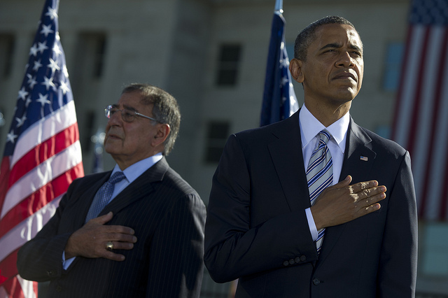 President Barack Obama and Defense Secretary Leon Panetta (Photo: U.S. Navy Petty Officer 1st Class Chad J. McNeeley/DOD)