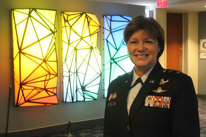Major General Suzanne Vautrinot (Photo: David Stegon/FedScoop)