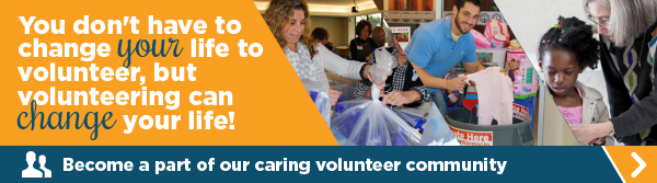 Become a part of our caring volunteer community