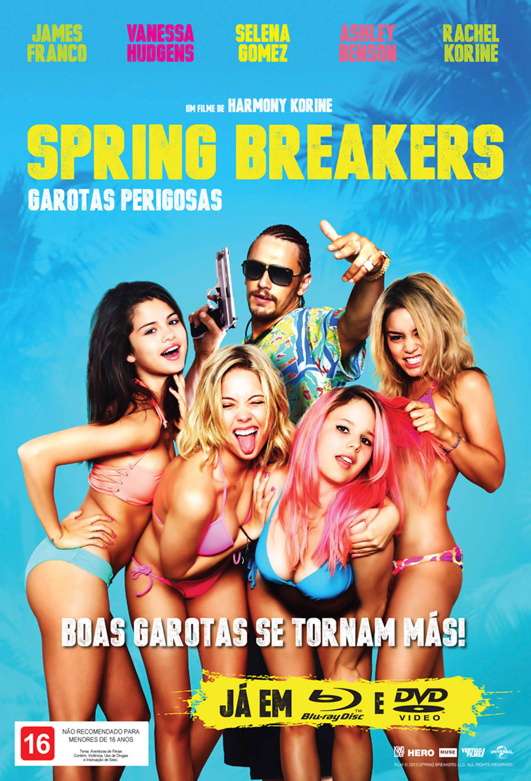 Baixar Filme Spring Breakers – Garotas Perigosas BDRip XviD Dual Audio Dublado – Torrent