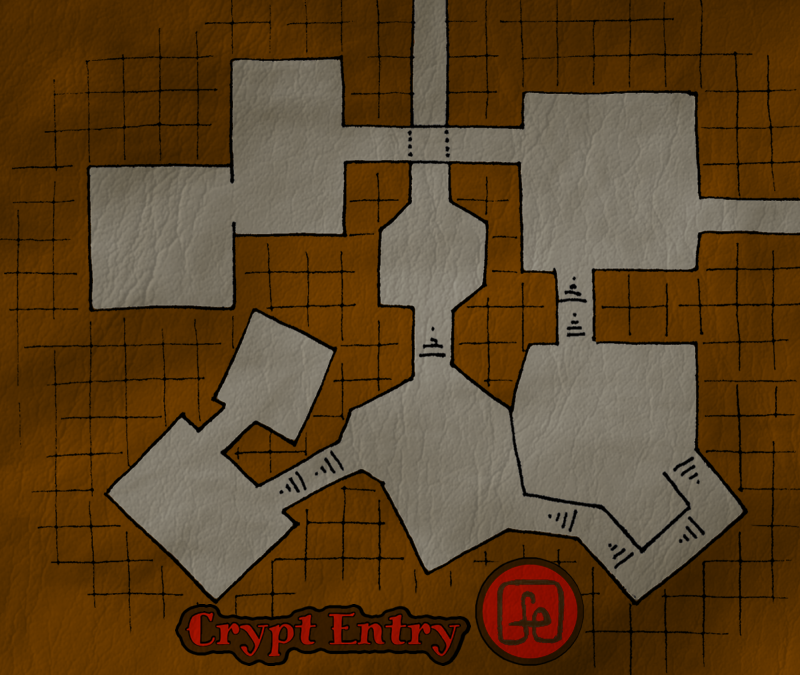 Crypt Entry Map