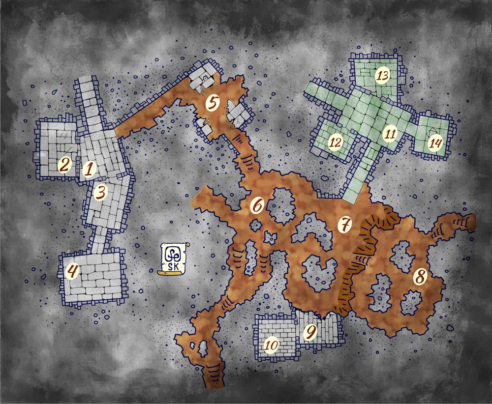keyed map