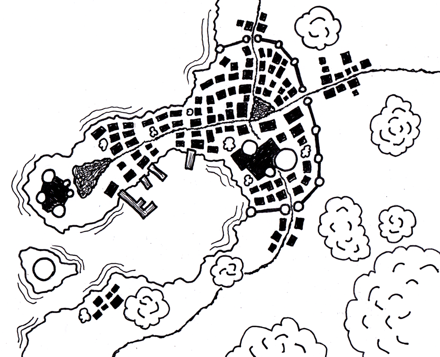 port town map