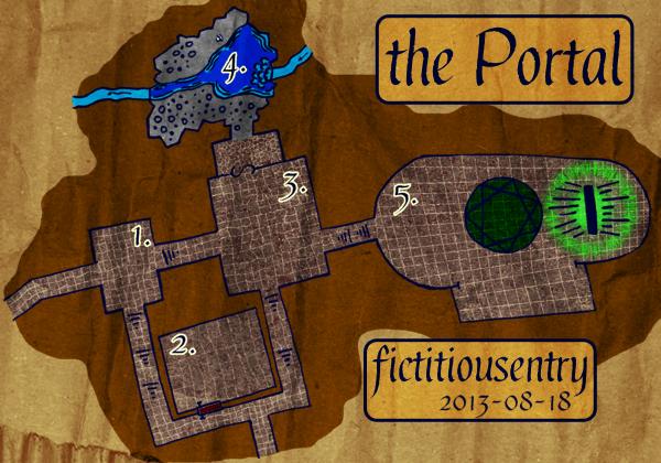The Portal Map - Keyed