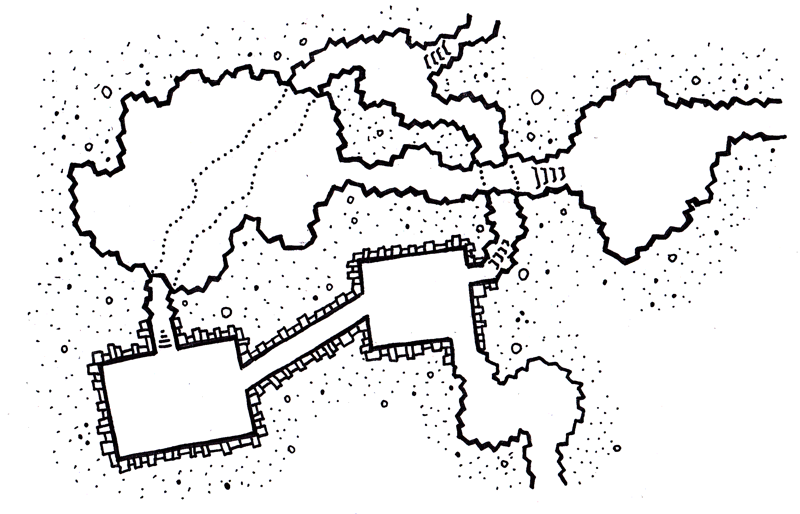 two dungeons map
