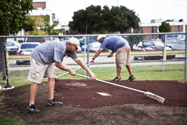 Reagan Baseball Field Renovations