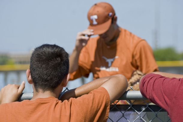 Longhorn Baseball at Reagan High School