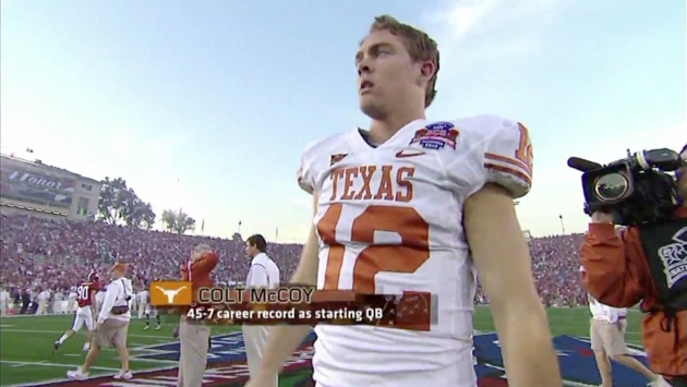 Counterfeit Love: An Interview with Colt McCoy