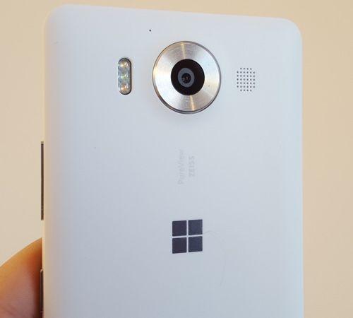 Lumia 950's plastic cover