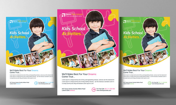 Education Flyer Templates And Designs For Download Mandegarfo