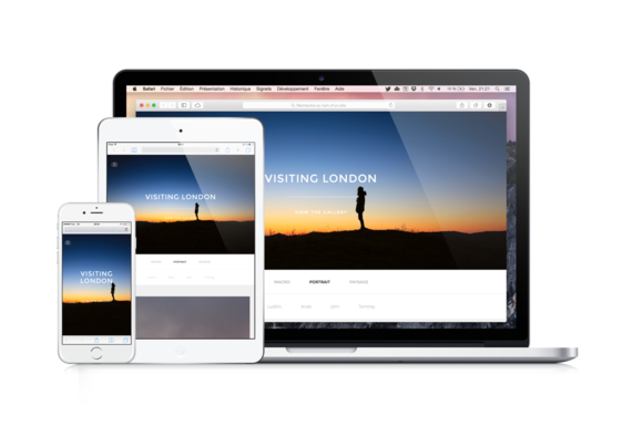 Foto Responsive Photos Template