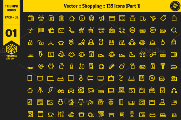Triumph Icons Pack 02