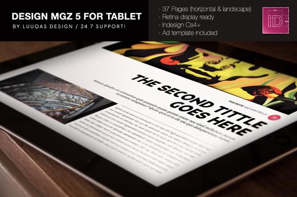 Design Magazine 5 For Tablet