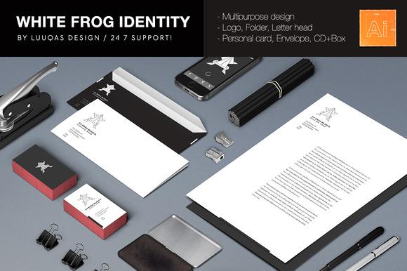 White Frog Identity