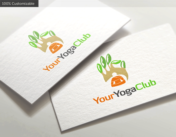 Yoga Club Logo Template