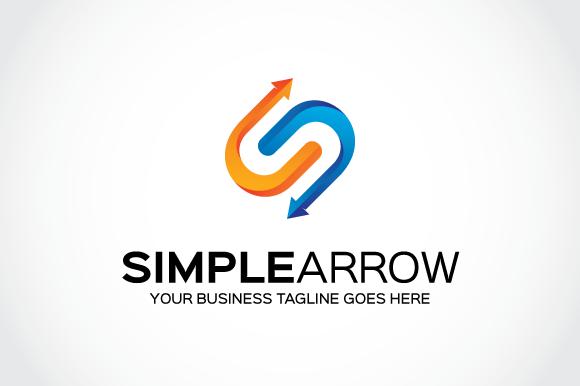 Simple Arrow Logo Template