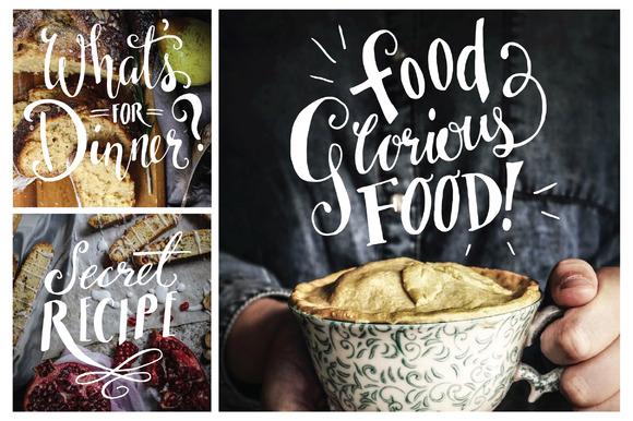 Food Photography Overlays Set 1