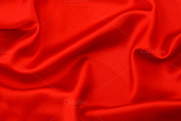 Red Silk Background Texture