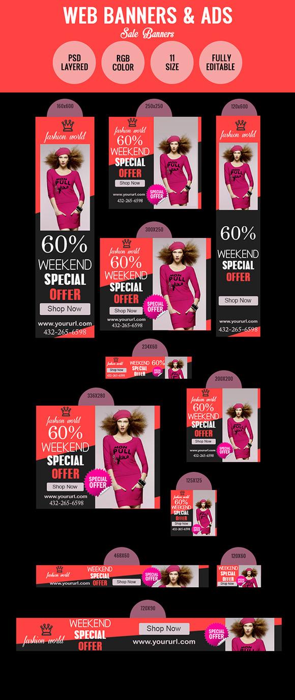 Special Offer Sales Banner Design