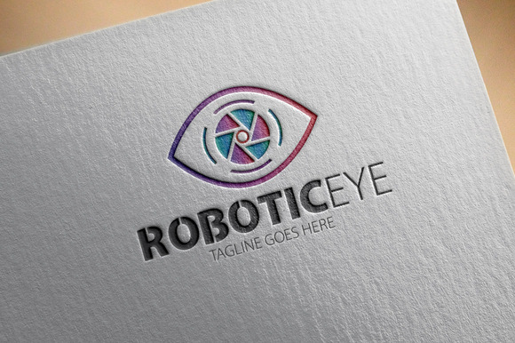 Robotic Eye Logo