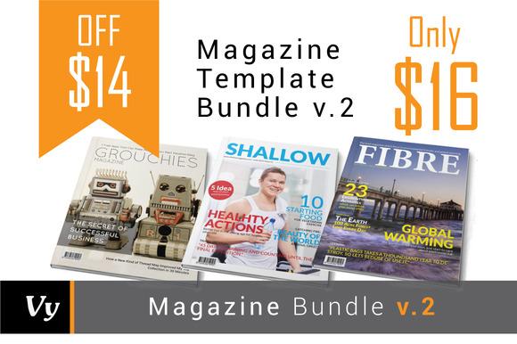 Magazine Template Bundle Vol 02