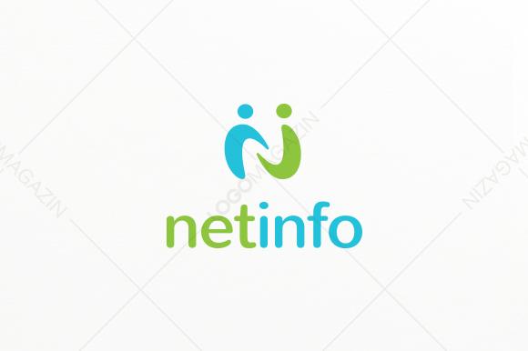 Net Info Logo Template