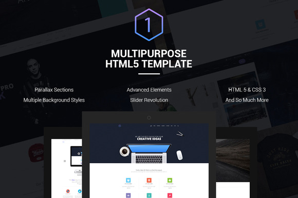 ONE Multipurpose Responsive Template