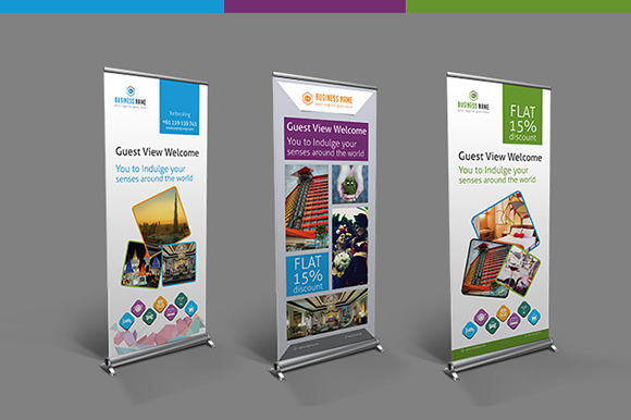 Hotel Travel Roll-up Banner