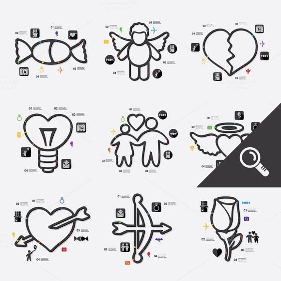9 Valentine S Day Infographics