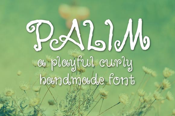 Palim Script Font