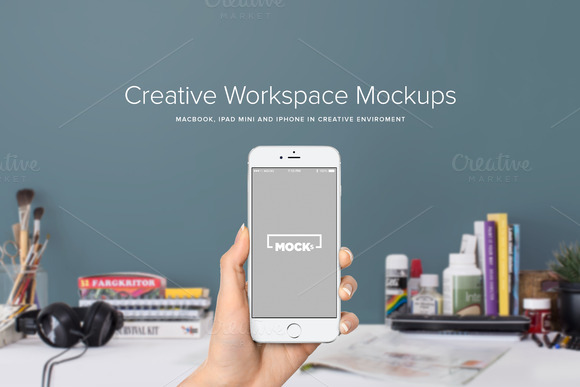 Macbook IPad IPhone Mockups