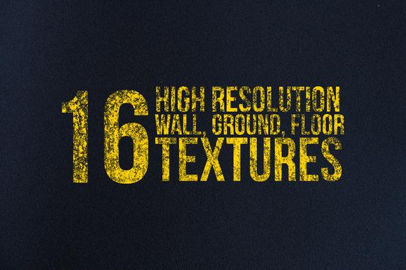 16 Wall Floor Road Textures