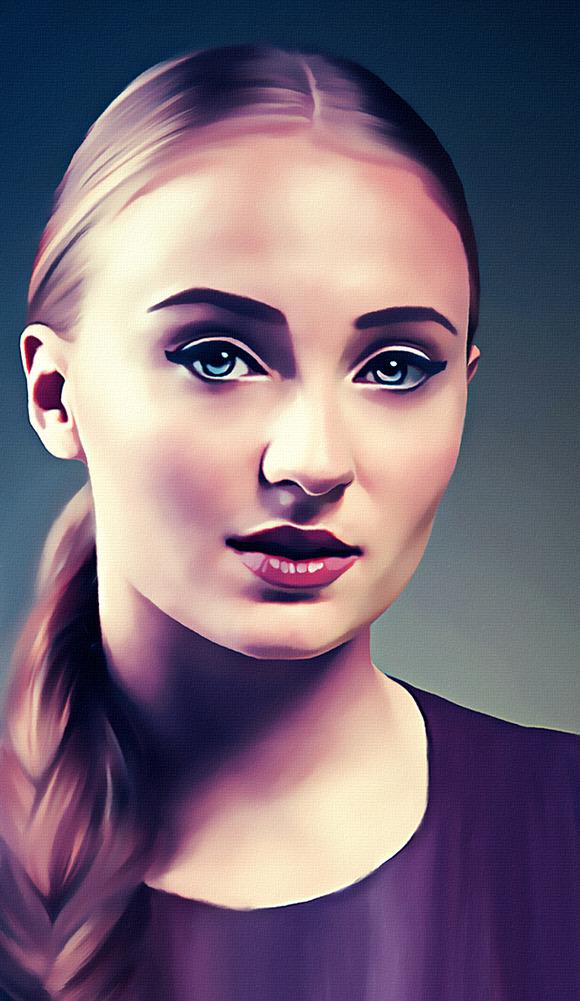 Sophie Turner Digital Painting