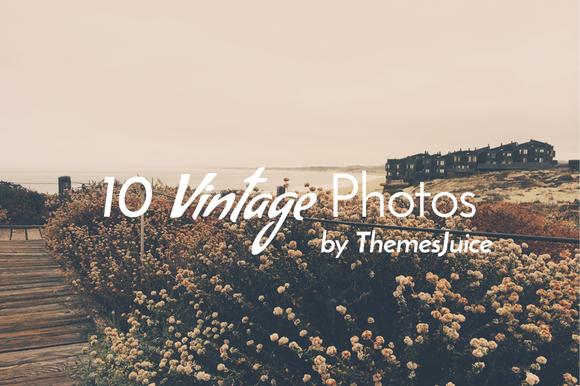 Set 10 Vintage Photos Vol 1