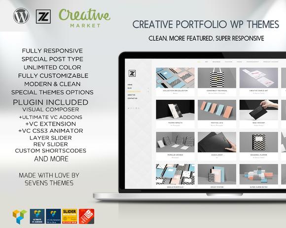 POETFOLIO-Modern Portfolio Wp Themes