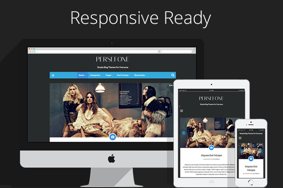 Persefone WordPress Blog Theme