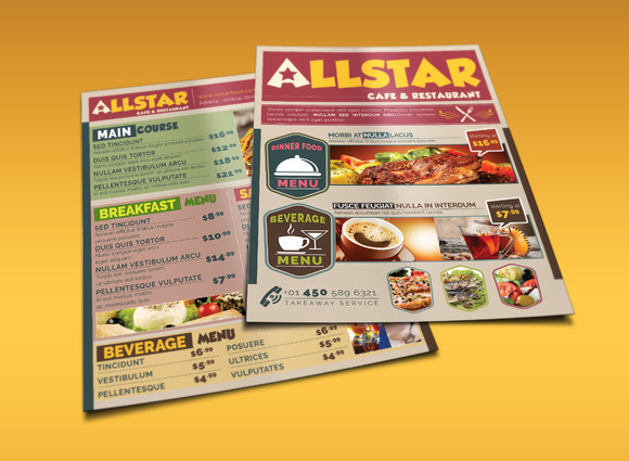 Cafe And Restaurant Flyer 02