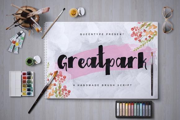 Greatpark Typeface