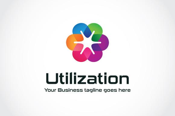 Utilization Logo Template