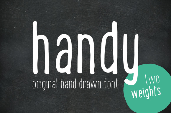 Handy The Hand Drawn Font