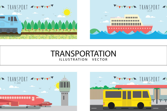 Vector File Useful About Transport