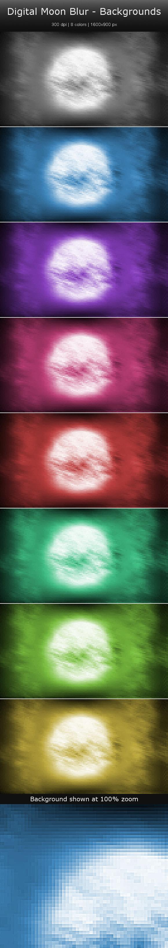 Moon Blur Backgrounds