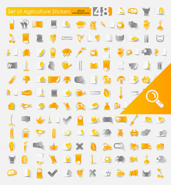 148 AGRICULTURE Stickers