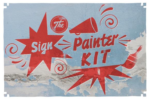 100 Items Signpainter Kit