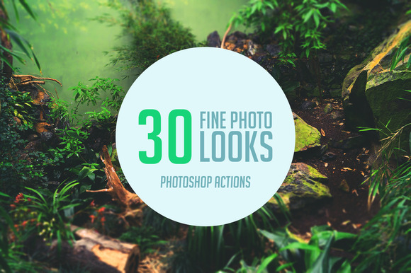 Fine Photo Looks Photoshop Actions