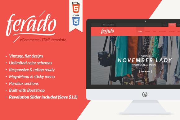 Ferado ECommerce HTML 5 Template